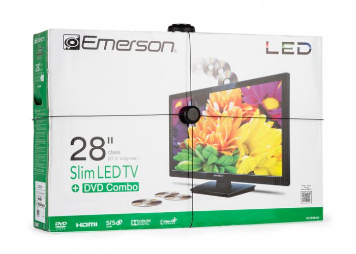 Detail-IR Package Wrap LED TV Left